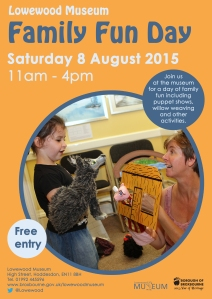 Lowewood Museum family fun day
