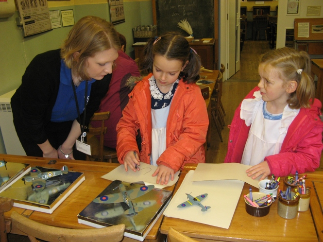 Family activities at the British Schools Museum