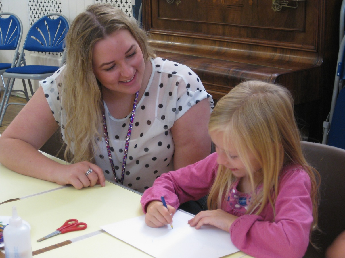 Craft activities at Braintree Museum