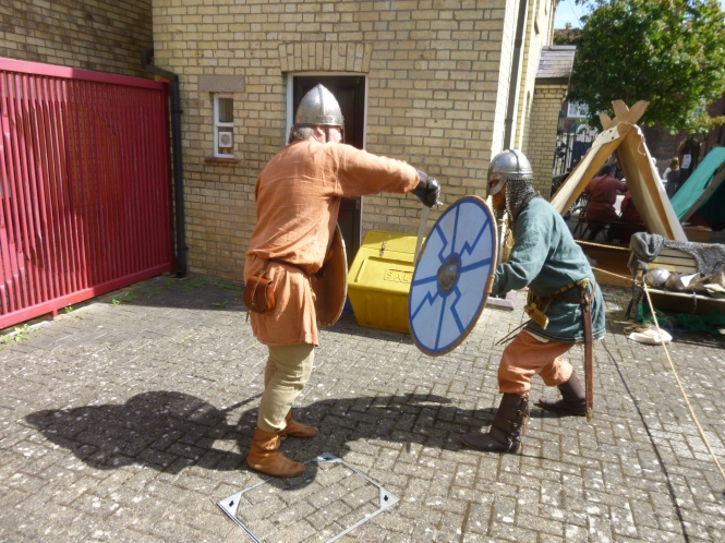 Vikings at Royston Museum
